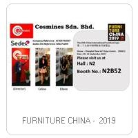 FURNITURE CHINA -  2019